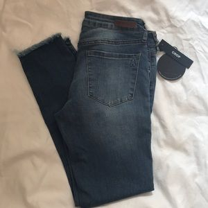 Articles of Society super soft cropped jeans